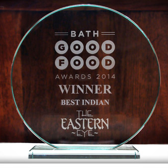 Eastern Eye Bath - Indian Restaurant Award